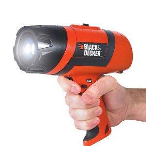 Black & Decker BDSPLEDR Rechargeable Spotlight