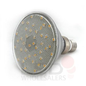 Brightest PAR38 42 White SMD LED Flood Light Bulb, 1314WH-CV