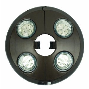 Challenger 4-Light Rechargeable Umbrella Light