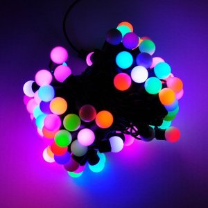 Color Changing LED RGB Ball String Christmas Xmas Lights Belt Light, 2063rgb