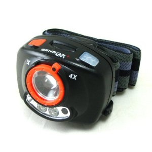 Cree Sensor+ Adv XP-C Super Bright 100 Lumens Cree LED Headlamp Flashlight, with Handsfree On-Off Switch