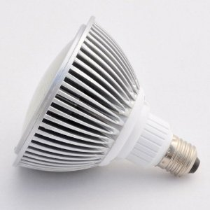 Dimmable PAR38 16 Watt LED Wide Angle Flood Light Standard Screw Base,white 1322WH-DM