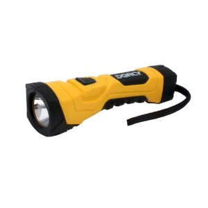 Dorcy 41-4750 180 Lumen High Flux LED Cyber Light Flashlight with Batteries