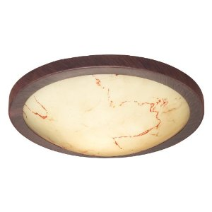 Eglo 87855A Timor Antique Brown beige Marble 1-Light Wall Ceiling Light Fixture