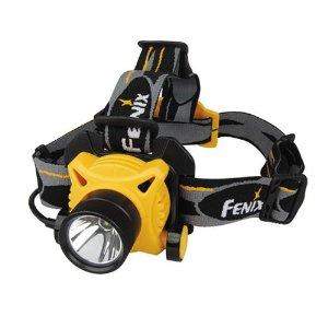 Fenix HP20 LED Waterproof Headlamp 230 Lumens Bundle