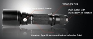 Fenix TK21 Flashlight - Black - Small