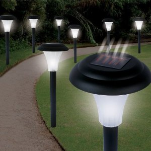 Garden Creations JB5629 S/8 Solar Accent Lighting