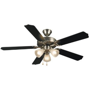 Hardware House 415935 Paladuim 52-Inch Ceiling Fan Brushed Nickel