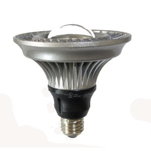 Lights of America PAR38 Dimmable Bulb Standard Base Indoor/Outdoor Warm White Light Bulb