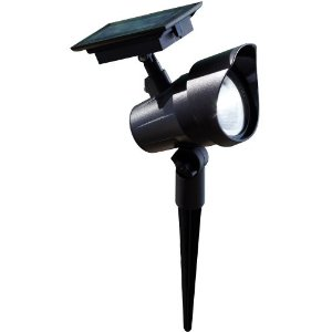 Moonrays 93380 Premium Output Solar Spotlight, LED is 6X-Brighter