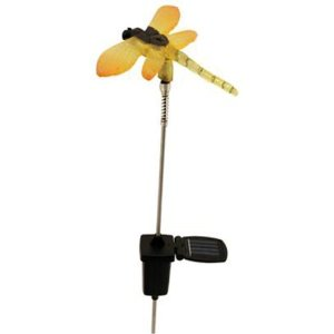 Moonrays 95958 Solar Powered Glowing Dragonfly Color Changing LED Lights