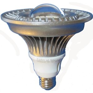 Par38 High Power LED bulb Lamp 860 Lumens Warm White Lights of America