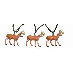 Rivers Edge 10-Piece Deer Party Light Set
