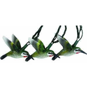 Rivers Edge 10-Piece Humming Bird Light Set