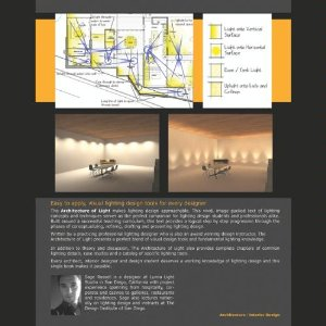 THE ARCHITECTURE OF LIGHT-Architectural Lighting Design Concepts<br /> and Techniques [Perfect Paperback]