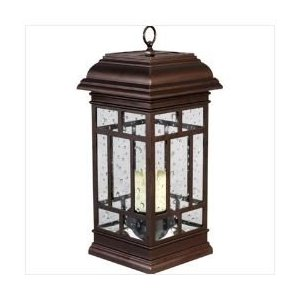 Westinghouse: Solar LED Patio Lantern ~ Recharges in Sun & Shade