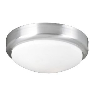 World Imports Lighting 9302-37 Beyond Modern 2-Light Flush Mount, Brushed Nickel